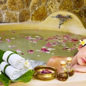 приготовить лечебную ванну