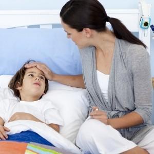 Если болезнь возникла детей